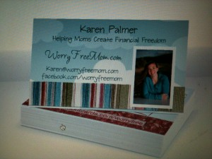 Tips for business cards helping women rediscover their dreams whats wrong with this business card its cute it has my picture so a person can easily remember who i am it has my website and facebook link colourmoves